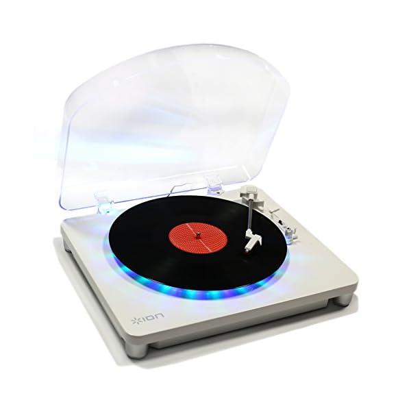 ION Audio LEDライト付きレコードプレ...の商品画像