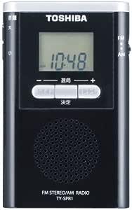 TOSHIBA AM/FMラジオ TY-SPR1(K)