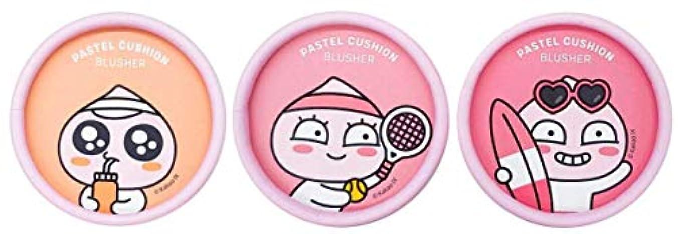 応用ねじれに同意する[ザ?フェイスショップ] THE FACE SHOP [アピーチ パステル クッション ブラッシャー6g] Apeach Pastel Cushion Blusher 6g [海外直送品] (#02. Lalala Coral...