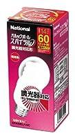 パナソニック パルックボール スパイラル(調光器対応形) A15形 電球60形タイプ(E26口金) 電球色 EFA15EL14C
