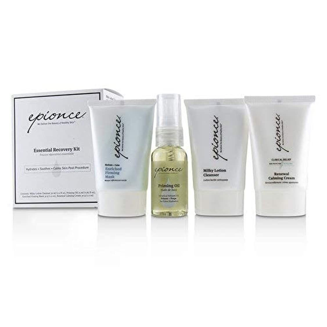 厚いポインタ固有のEpionce Essential Recovery Kit: Milky Lotion Cleanser 30ml+ Priming Oil 25ml+ Enriched Firming Mask 30g+ Renewal...
