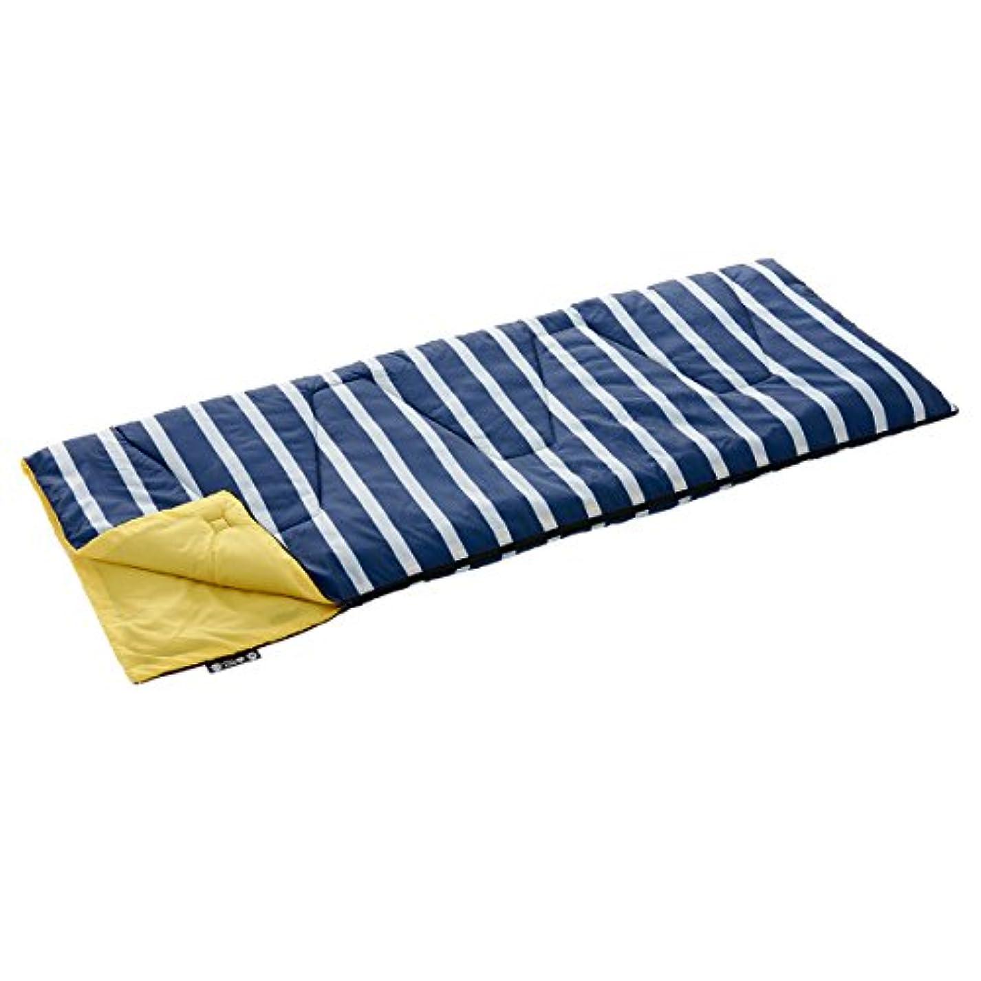 想起くつろぐホームロゴス 寝袋 ROSY 丸洗いクッションボーダーシュラフ?6[最低使用温度6度] 72600970