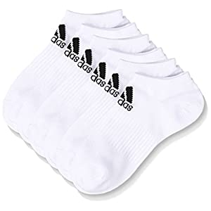 (アディダス) adidas トレーニングウェア BASIC 3P アンクルソックス DMK57 [ユニセックス] BR6128 ホワイト/ブラック 25-27cm
