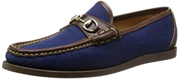 Garland 7632: Navy Waxed Canvas / Brown