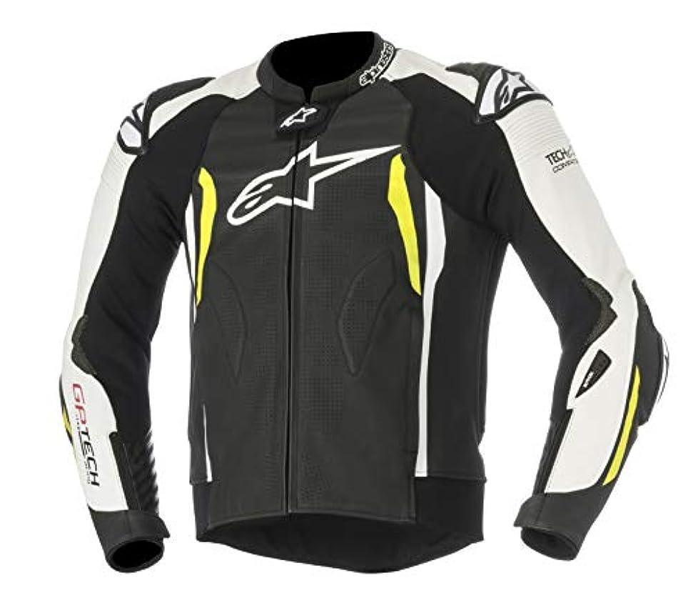 使用法気味の悪い著作権Alpinestars メンズ GP Tech V2 レザーオートバイジャケット Tech-Air 互換 56 EU ブラック 3108517125-56