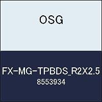OSG エンドミル FX-MG-TPBDS_R2X2.5 商品番号 8553934