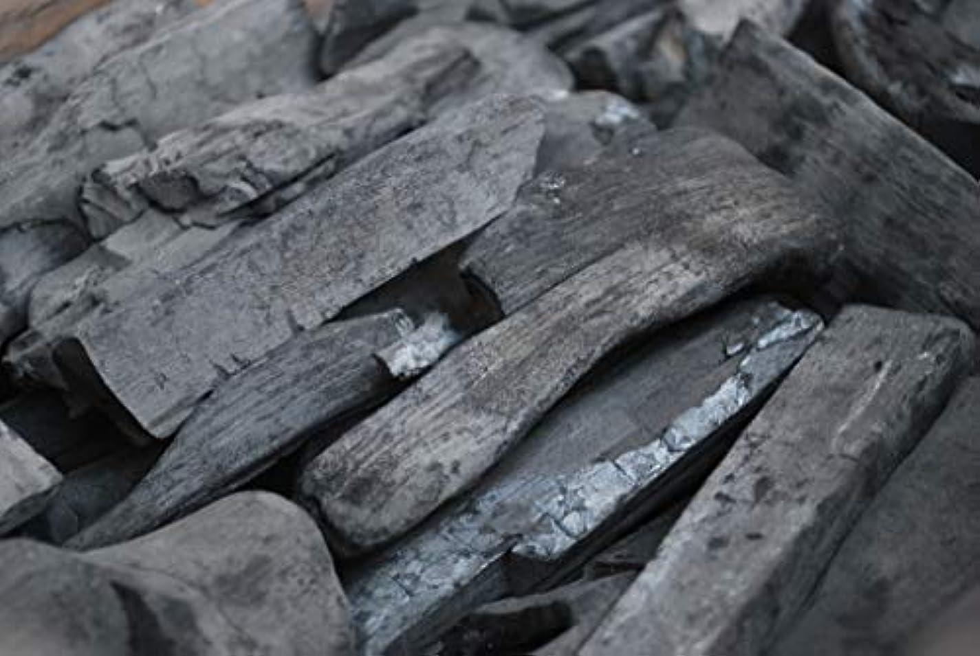 備長炭(白炭) ラオス産1箱15kg 2セット 合計 30kg 切割小 バーベキュー BBQ 高火力 長時間燃焼 プロ仕様