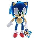 Sonic the Hedgehog Plush Toy Kids Boys Girls 33cm