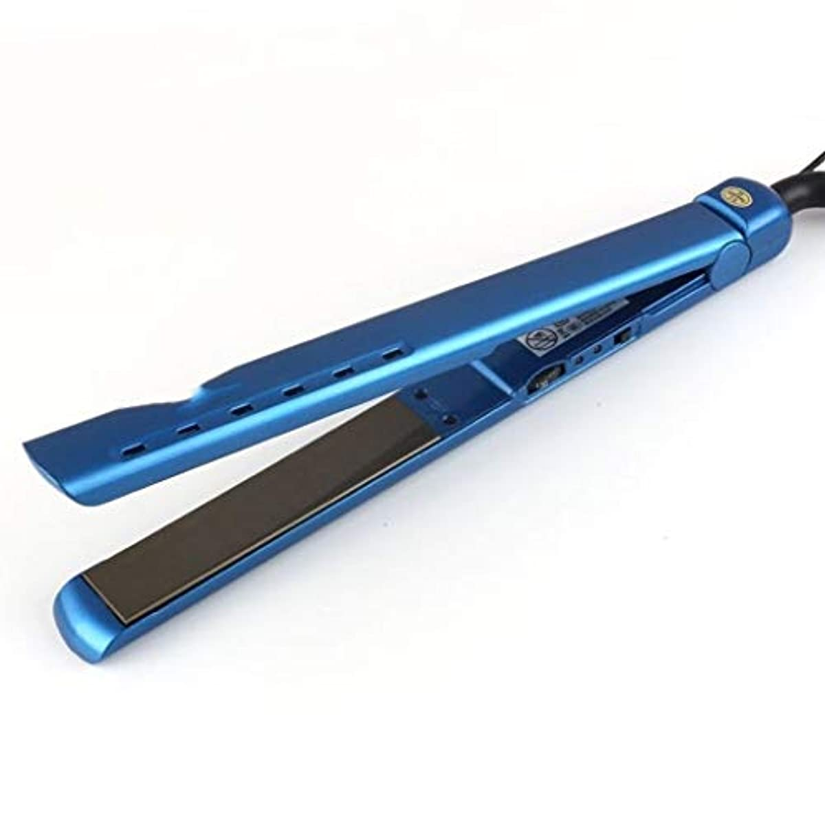 天皇ミリメートル裸JLHRB ストレートストレートヘアアイロンと巻き毛2 In 1および調整可能な温度130度-230度で、すべての髪のタイプをすばやく加熱 (Color : D)