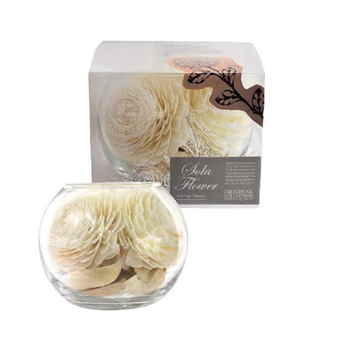人物反映する適切な三和トレーディング new Sola Flower ソラフラワー Glass Bowl グラスボウル Dearest Dahlia ディアレスト ダリア