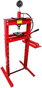WEIMALL 12トン 油圧プレス メーター付 門型プレス機 12ton 赤