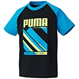 (プーマ)PUMA スポーツ SU 半袖シャツ 837831 [ジュニア] 01 プーマブラック 140