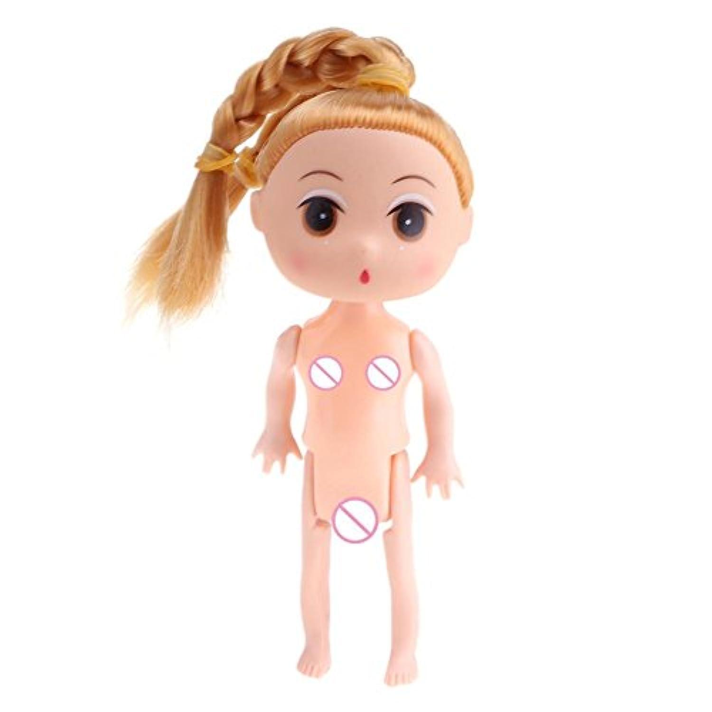 Domybest 人形アクセサリー 裸体 女の子 可愛い ケーキ人形 バービー ドール DIY玩具 着せ替え人形パーツ ボディアクセサリー キット ごっこ遊び