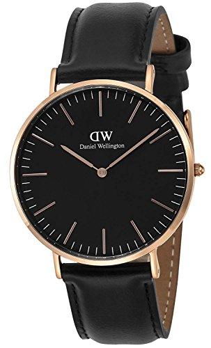 ダニエルウェリントン メンズ腕時計 クラシック ブラックシェフィールド DW00100127