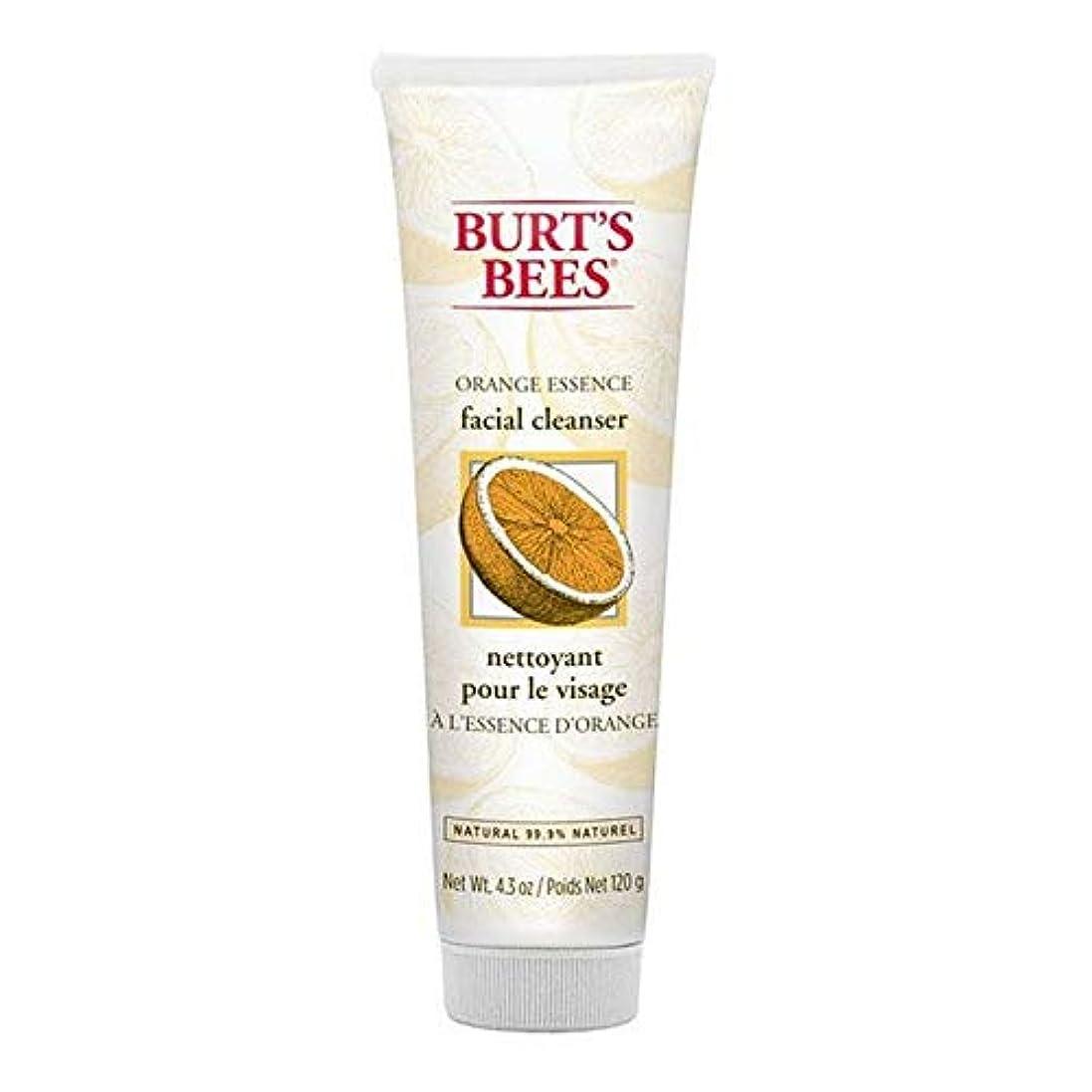周波数ライム句[Burt's Bees ] バーツビーオレンジエッセンス洗顔料の120グラム - Burt's Bees Orange Essence Facial Cleanser 120g [並行輸入品]