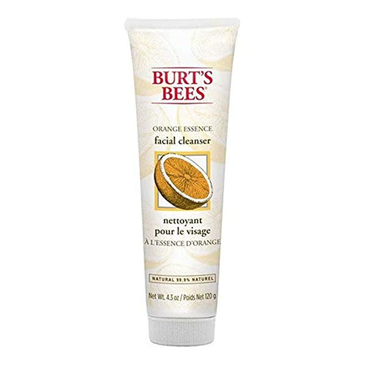 [Burt's Bees ] バーツビーオレンジエッセンス洗顔料の120グラム - Burt's Bees Orange Essence Facial Cleanser 120g [並行輸入品]