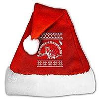 ニャークリスマスクリスマスサンタ帽子-ぬいぐるみサンタ帽子-クリスマスコスチュームクラシックハット-女性/男性/子供/大人用ユニセックスクリスマス帽子