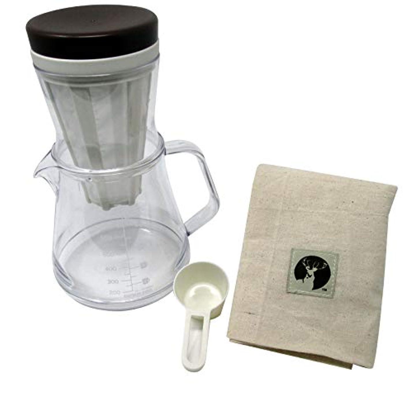 要件閉塞導出キャプテンスタッグ(CAPTAIN STAG) コーヒー ポット 割れにくい 日本製 収納袋付き