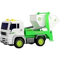 Bluelans Garbageエンジニアリング車両トラックモデルダンプトラックConstruction Vehicle Toy 18cm x 9cm x 11cm/7.09