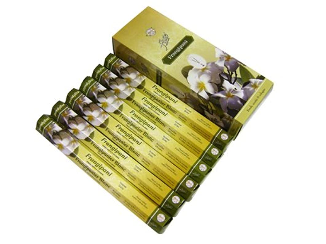 感染する非アクティブ弾丸FLUTE(フルート) フランジパニ香 スティック FRANGIPANI 6箱セット