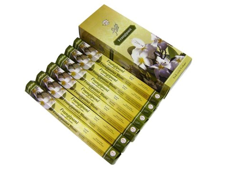 有彩色の愛情深い浪費FLUTE(フルート) フランジパニ香 スティック FRANGIPANI 6箱セット