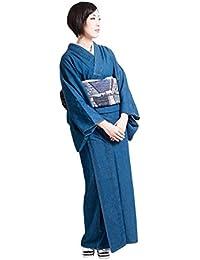 デニム着物 着物 レディース 女性 お仕立て上がり 洗える着物 浴衣 婦人用