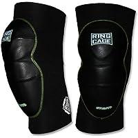 デラックスmim-foam膝パッド – レザーfor MMA Grappling Jiu Jitsu