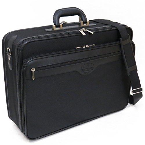 [ウエリントン] WELLINGTON ソフトアタッシュケース 21217 A3ファイル対応 ビジネスバッグ ジャバラ付 48cm 1950g