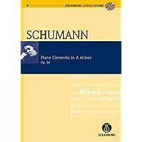 Piano Concerto in A Minor / a-Moll Op. 54 (Eulenburg Audio+score Series)