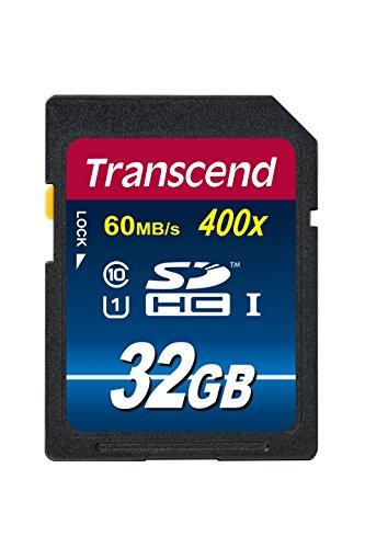 Transcend SDHCカード 32GB Class10 UHS-I対応 TS32GSDU1...