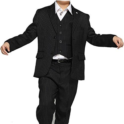 4994832243d24  windykids  男の子 スーツ 子供 スーツ キッズ スーツ 子供フォーマルスーツ 縦縞  95 100 105 110 115 120 125 130 135 140 14... ご購入前に必ずご確認ください: 1  ...