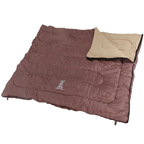 DOPPELGANGER(ドッペルギャンガー) アウトドア わがやのシュラフ 40秒で片付け可能な4人家族用寝袋 S4-511