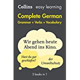 Easy Learning German Complete Grammar, Verbs and Vocabulary (3 books in 1): Trusted Support for Learning