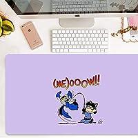 大きなパッド入りのテーブルマットの耐摩耗滑り止め特大マウスパッドTitchedエッジ丈夫で耐久性のある厚さ:3ミリメートル QDDSP (Color : B, Size : 90×40cm)