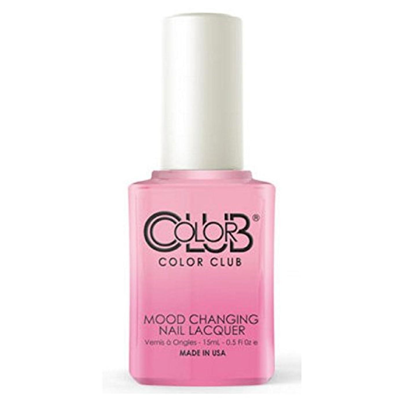 竜巻味本物のColor Club Mood Changing Nail Lacquer - Enlightened - 15 mL / 0.5 fl oz