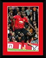 マンチェスター ユナイテッド F.C. ピクチャー ルカク 8 x 6 ポスター/Manchester United F.C. Picture Lukaku 8 x 6