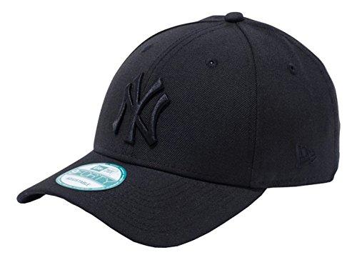 (ニューエラ)NEW ERA 9FORTY ニューヨーク・ヤンキース ブラック × ブラック キャップ One Size