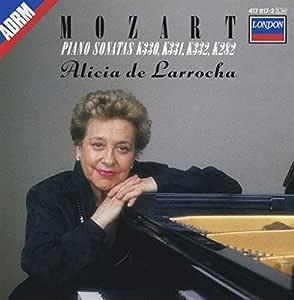 Piano Sonatas, K.282, 330, 331 & ,332