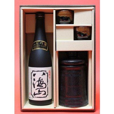 酒燗器付き八海山 大吟醸 720ml