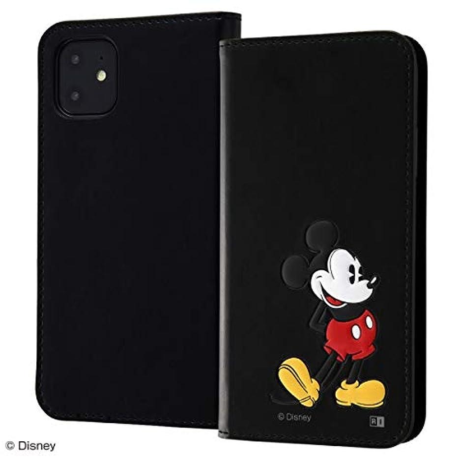 職人秘書基礎レイ?アウト iPhone 11用 ディズニー/手帳型ケース ポップアップ(ミッキー) RT-DP21J/MK
