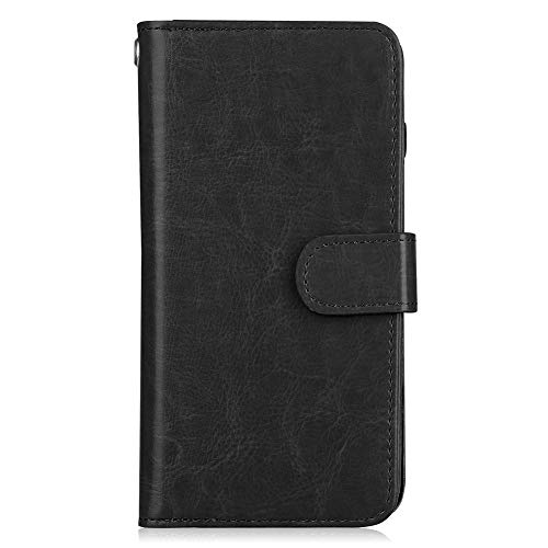 iPhone SE iPhone 5S iPhone 5 ケース 財布型 スマートフォンカバー 多機能カード収納 ジッパーバッグ Trys...