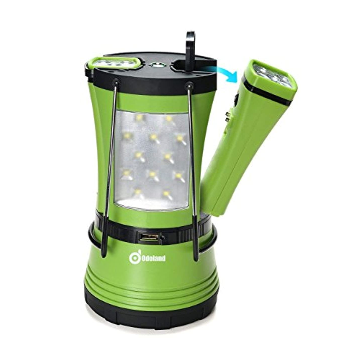 推測する残基周波数[(オドランド) Odoland ] [Odoland 600 Lumen LED Camping Lantern with 2 Detachable Flashlights, Camping Gear Equipment for Outdoor Hiking, Camping Supplies, Emergencies,] (並行輸入品)