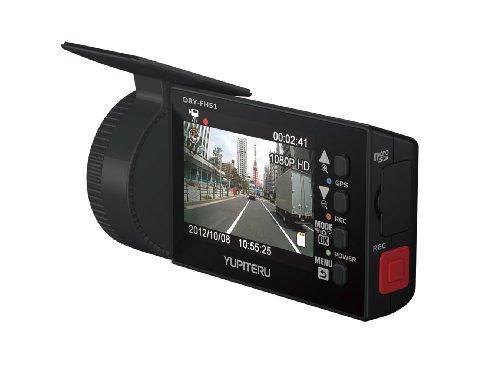 ユピテル 常時録画ドライブレコーダー GPS付き常時録画2.5インチ液晶搭載200万画素FullHD画質 DRY-FH51の詳細を見る
