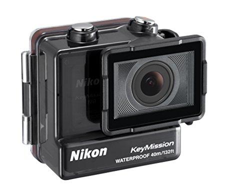 Japón Cámara Digital Nikon WP-AA1 Estuche Impermeable Para KeyMission 17 con pista.