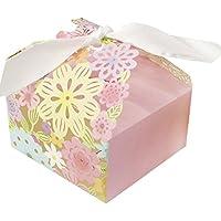 RaiFu キャンディーボックス カラフルなフラワーパターンレーザー彫刻中空ウェディング好き 1PCs 20pcs