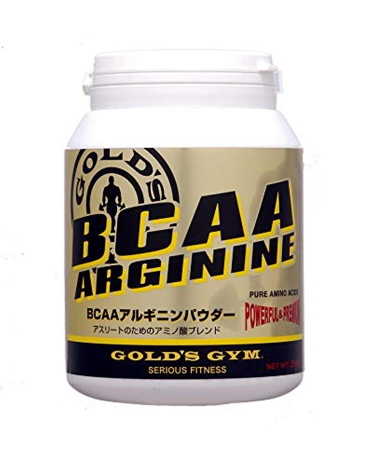 影響現金アシュリータファーマンゴールドジム(GOLD'S GYM) BCAAアルギニンパウダー 400g