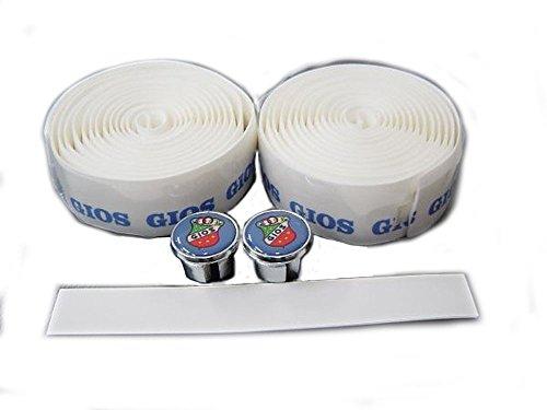 ジオス(GIOS) バーテープ ホワイト/ブルーロゴ
