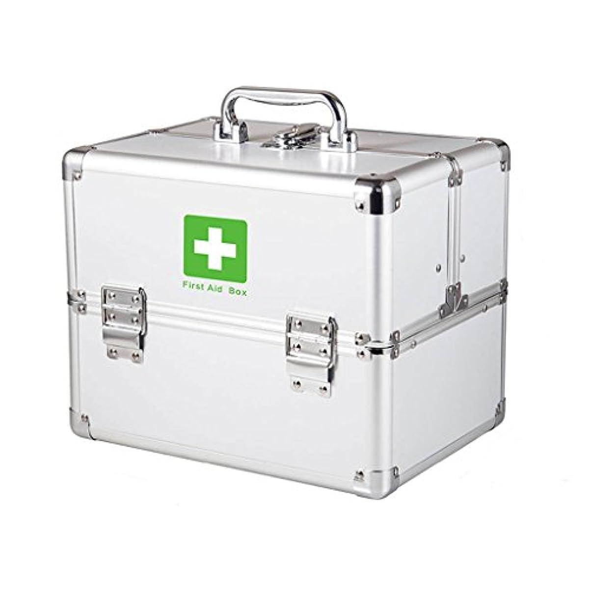 欺く利益地震KTYXDE 家庭用薬箱重層救急医療用品収納医療箱携帯診断ボックスこども小薬箱 薬収納ボックス (Size : M)