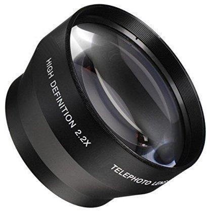40.5MM望遠レンズ2.2X変換Teleconverter for Sony Alpha a6500、a6300, a6000、a5000、a5100、a3000Nikon 1aw1、j1、j2、j3、j4、s1、s2、v1、v2ミラーレスデジタルカメラ