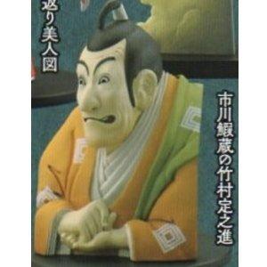 カプセルQミュージアム 日本切手立体図録 [3.市川鰕蔵の竹村定之進](単品)